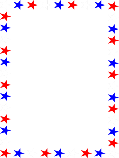 red white and blue borders blue border clipart red white and blue stars clipart2png