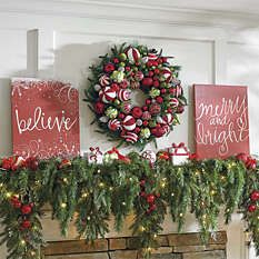 Home Christmas Decor - Indoor Christmas Decorations - Grandin Road ...