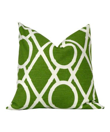 Take a look at this Grass Bamboo Pillow Cover by Scoope on #zulily today!