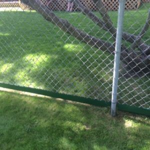 Fenceguard For Your Chain Link Fence Line Easy Trim
