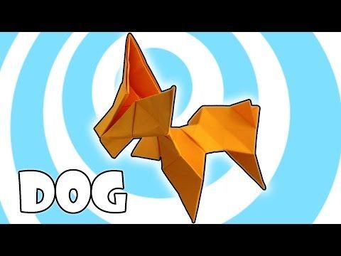 Modular Origami Dog Instructions 3 Units Youtube Modular