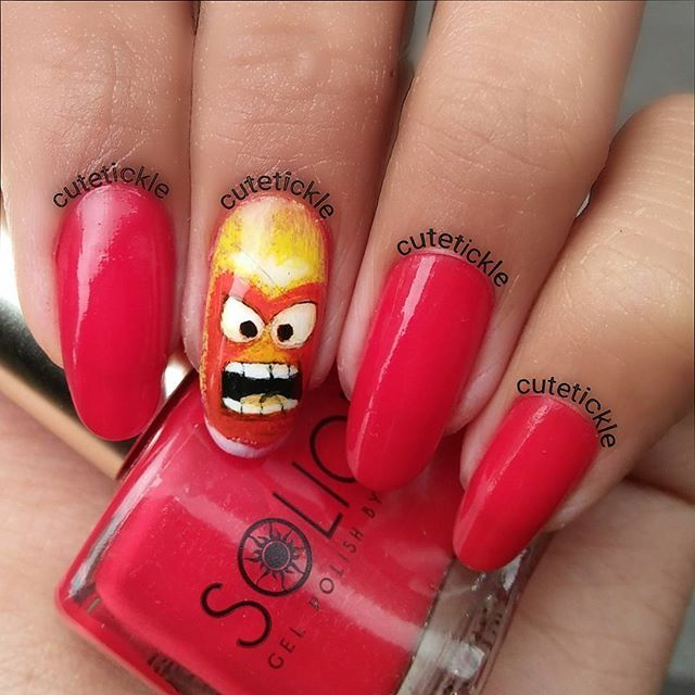 Cutetickle On Instagram I M Not Angry Just Hungry Gaaaaahhhh Manila Girl Gel Polish Girlstufforever Gel Top Coat Also By G Nails Accent Nails Gel Polish