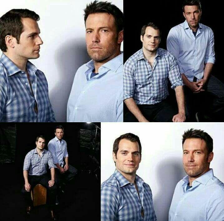 Henry Cavill and Ben Affleck ~ Ay!! Por Dios!! Me va a dar algo... Cuánta belleza junta...❗❗❗❗❗❤❤❤❤❤