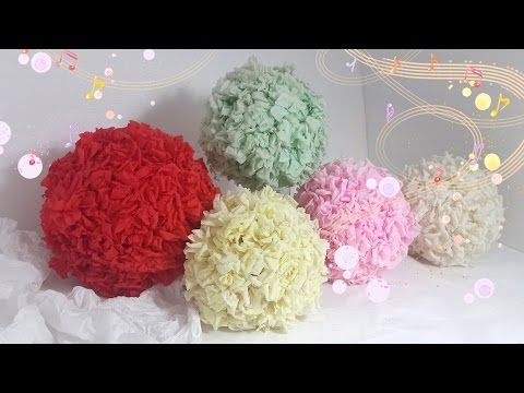 Diy how to make a paper rose topiary rose ball room decor youtube diy how to make a paper rose topiary rose ball room decor paper flower ballcrepe mightylinksfo Image collections