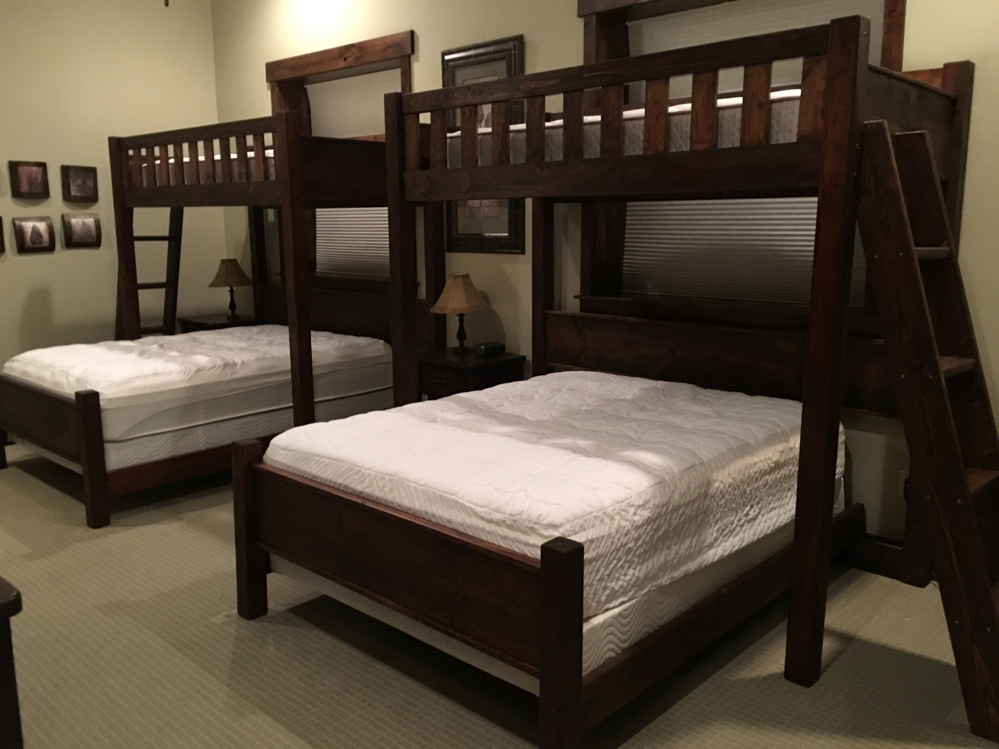 Best Custom Bunk Beds Texas Bunk Bed Twin Over Queen Rustic 400 x 300