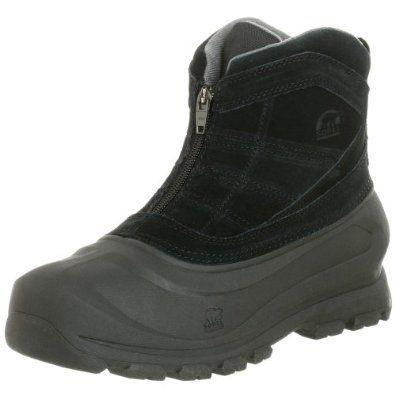 Sorel Men's Cold Mountain Zip Snow Boot,Black,11 M US SOREL ...