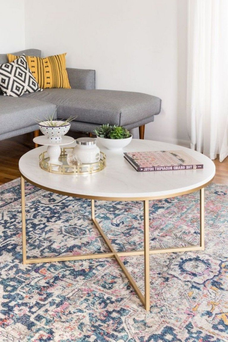 45 Lovely Marble Coffee Table Design Ideas Living Room Coffee