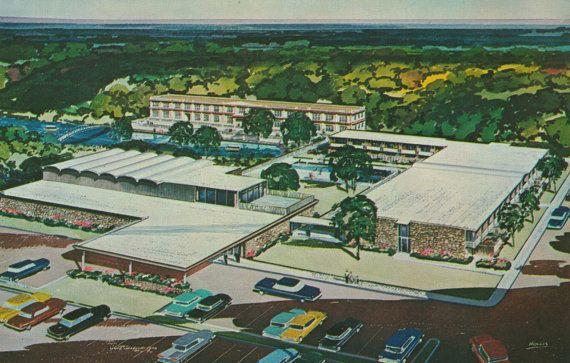 Aquarena Springs Motor Hotel San Marcos Texas By Stuckyestate