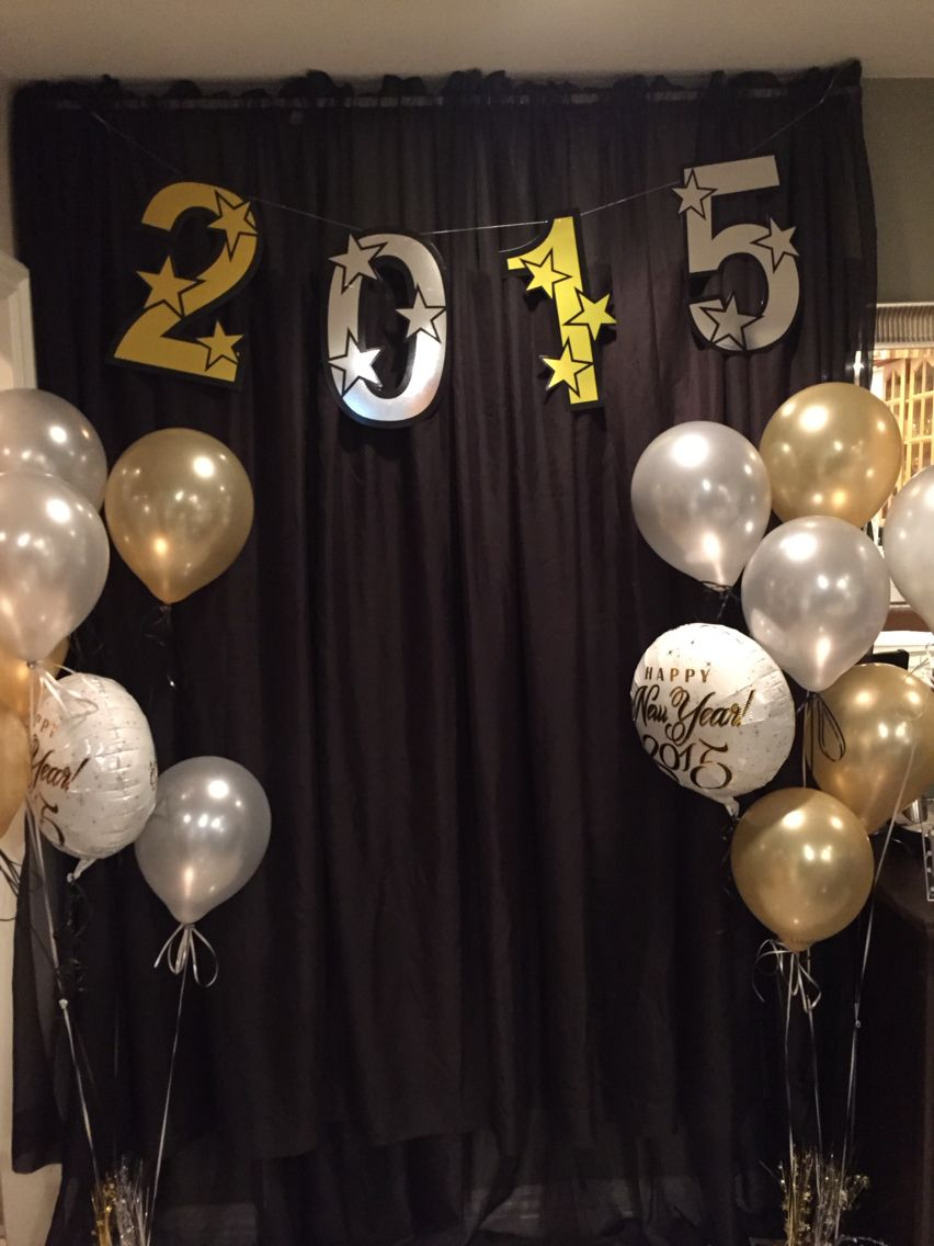 New Years Eve Decoration Girl Graduation Party