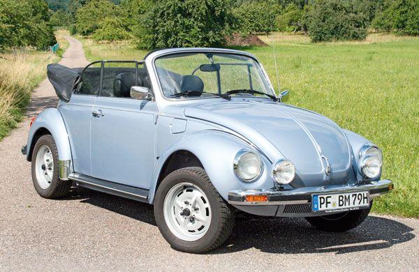 Gazoline : Volkswagen Coccinelle 1303 LS cabriolet