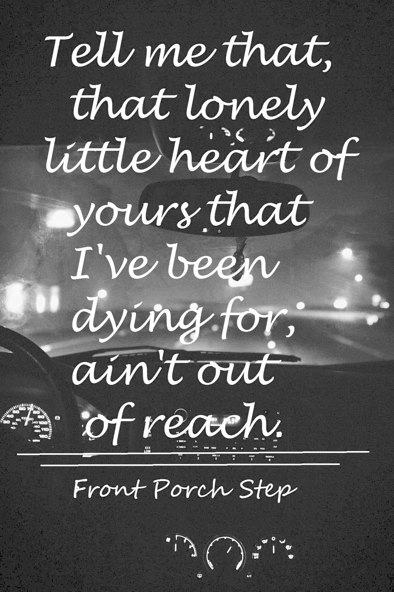 front porch step lyrics music and tattoos pinterest songs 1280x1920