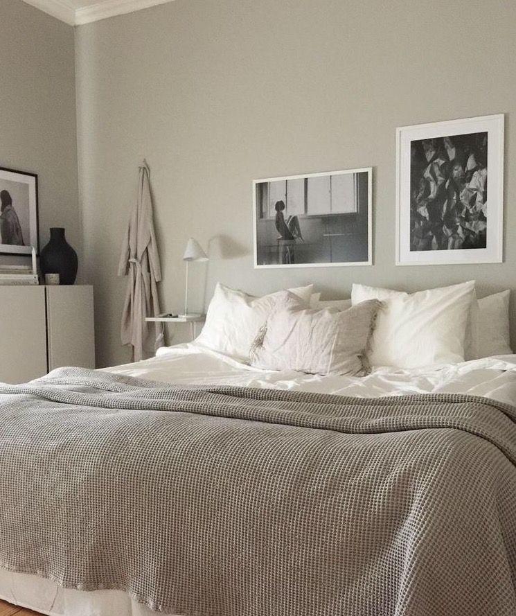 Scandinavian Bedroom   greige   Fouremptywalls