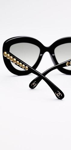 Lunettes De Soleil Papillon En Chanel Fashionista Pinterest