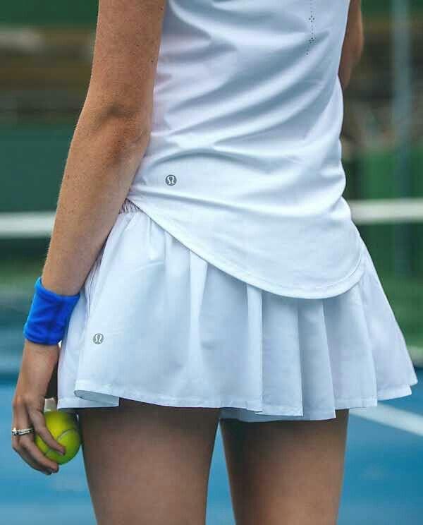 de633dd546 Lululemon Hot Hitter Skort $68.00 White ~ | style in 2019 | Tennis ...