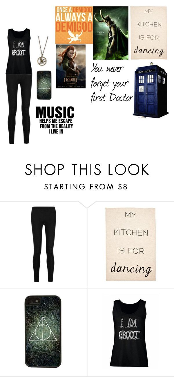 """""""This is me"""" by thelventimelord ❤ liked on Polyvore featuring Donna Karan, CellPowerCases and CO"""