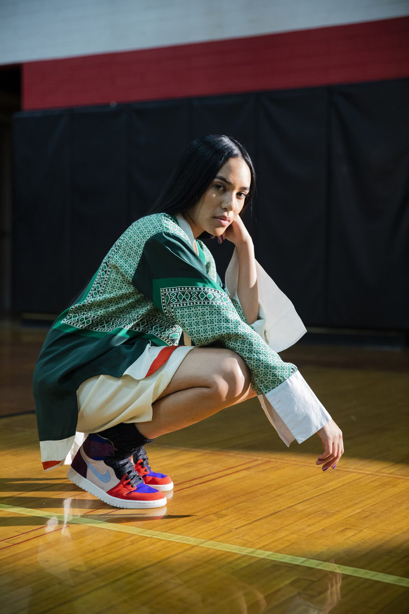 ff921085d631 Exclusive  Aleali May   Maya Moore Drop Two New Jordans
