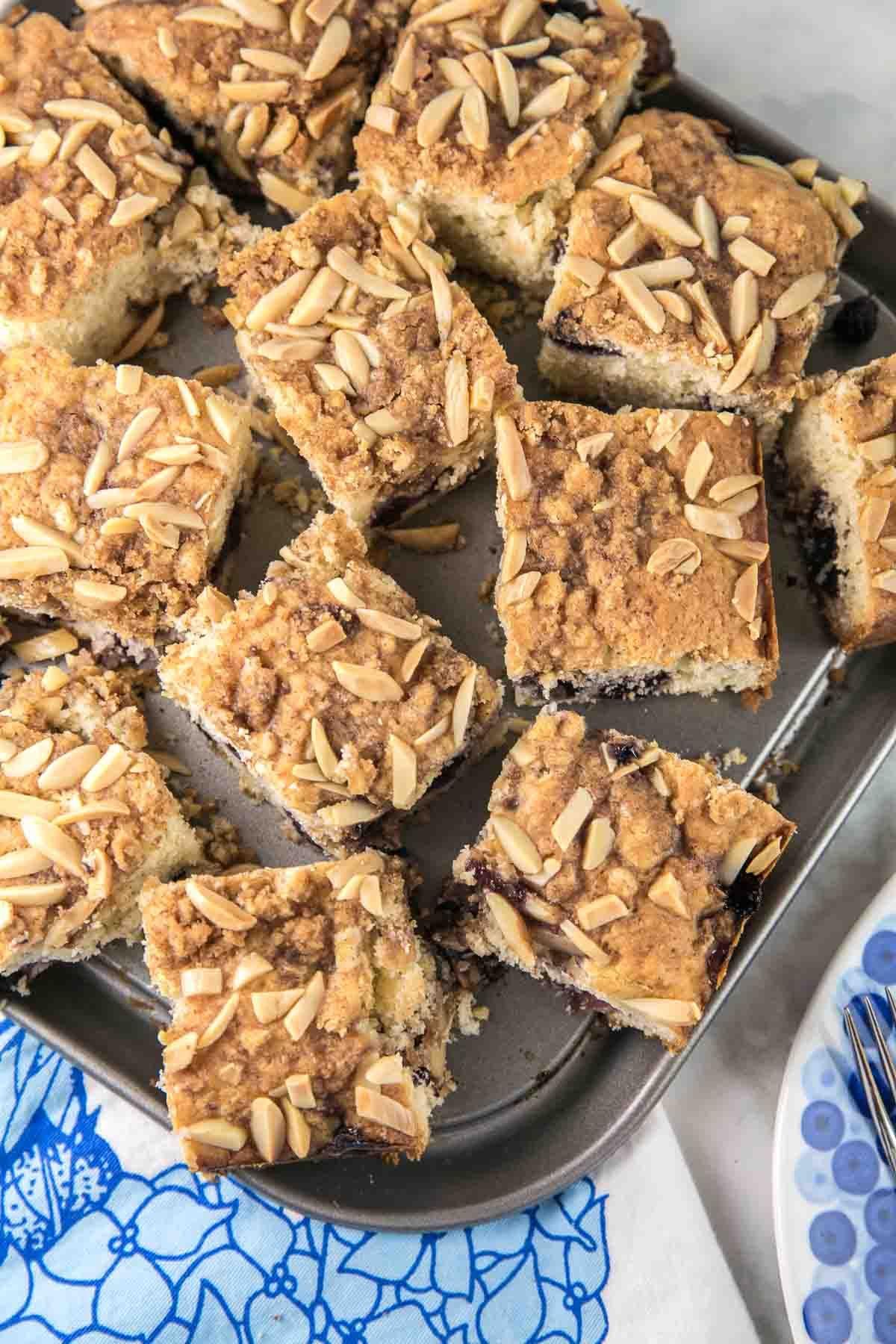 Almond Blueberry Breakfast Cake | Bunsen Burner Bakery