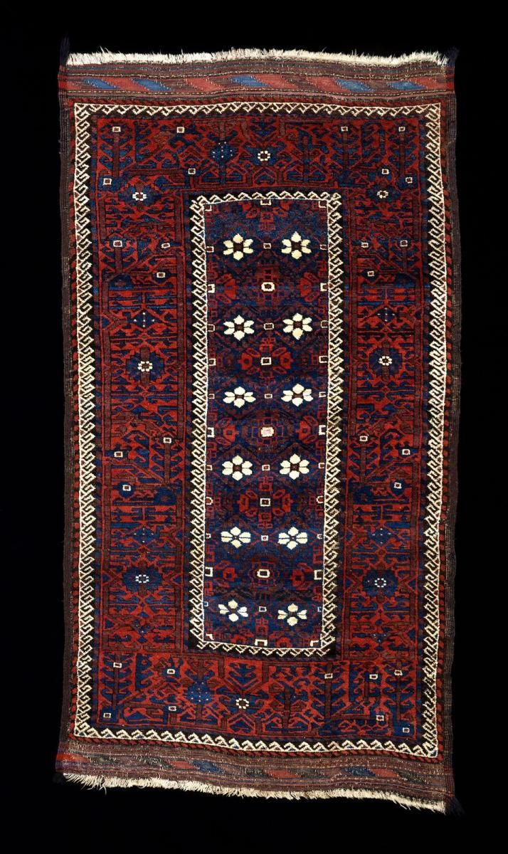 Culture Baluchi People Creation Date About 1880 Collection Textiles Materials Wool Dimensions 42 X 71 In 106 7 X 180 3 Cm Rugs On Carpet Rugs Tribal Rug