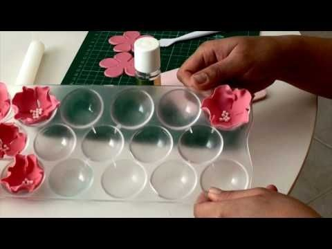 easy fondant flowers bakery
