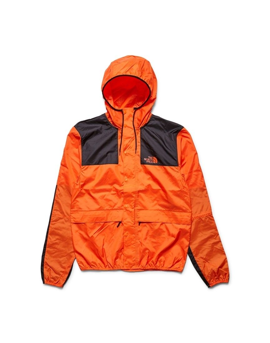 d3c7f99718 The North Face 1985 Mountain Jacket Seasonal Celebration Orange - New In at  The Idle Man