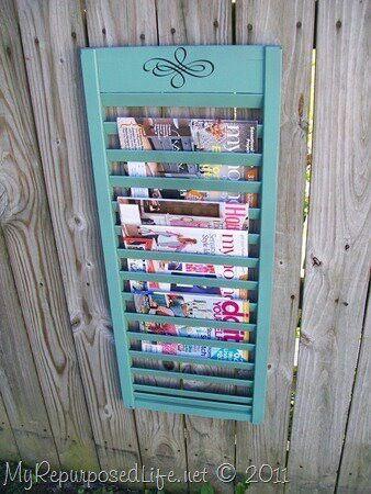 Magazine holder shutter