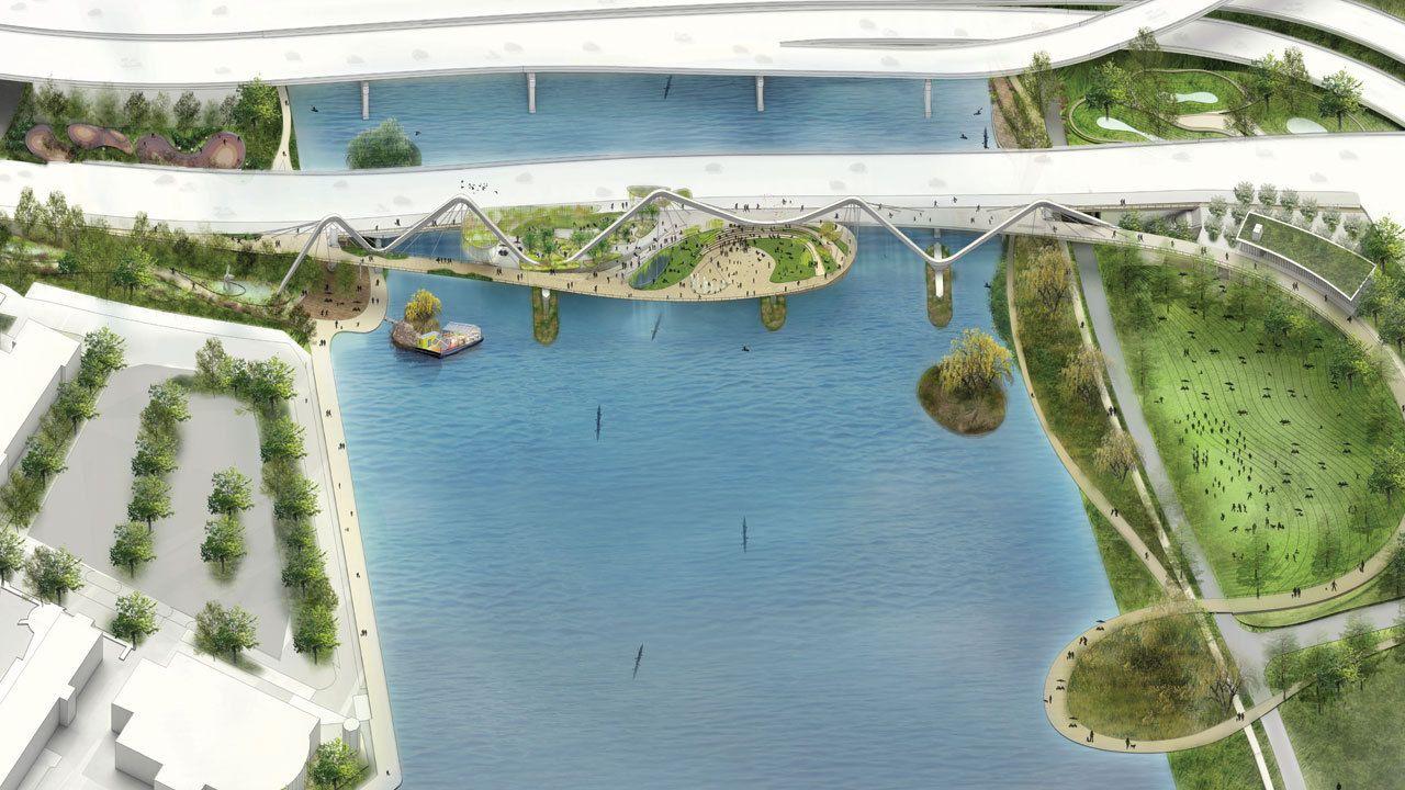 Galeria - 71 propostas para o primeiro parque elevado de Washington - 6