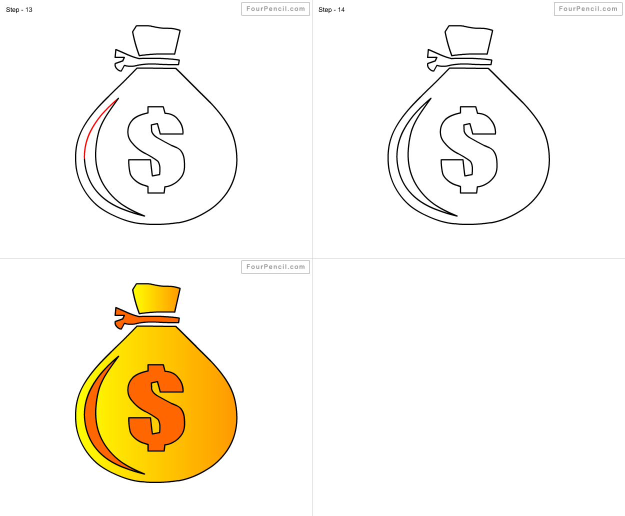 How To Draw Money For Kids Drawing For Kids Drawing Tutorials For Kids Drawings