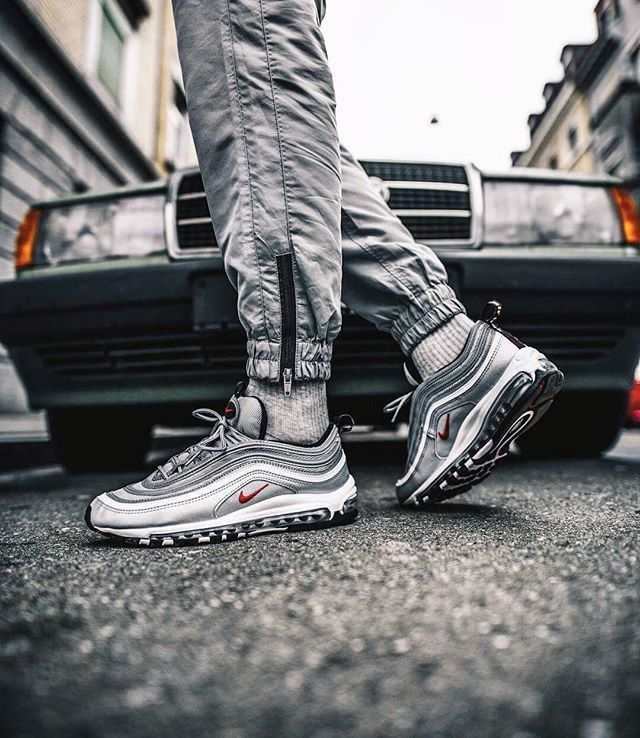 Hypebeast Follow Hypebeastkicks According To Solebox Official The Nike Air Max 97 Silver Bullet Will Be Restocked Nike Air Max 97 Nike Air Max Air Max 97