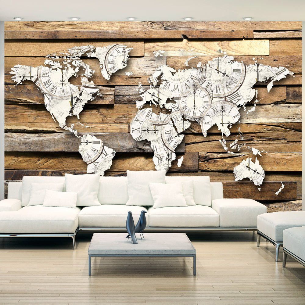 Decoration Murale Planisphere En Relief