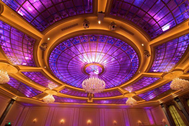 Customized lighting - Taglyan Cultural Center, LA