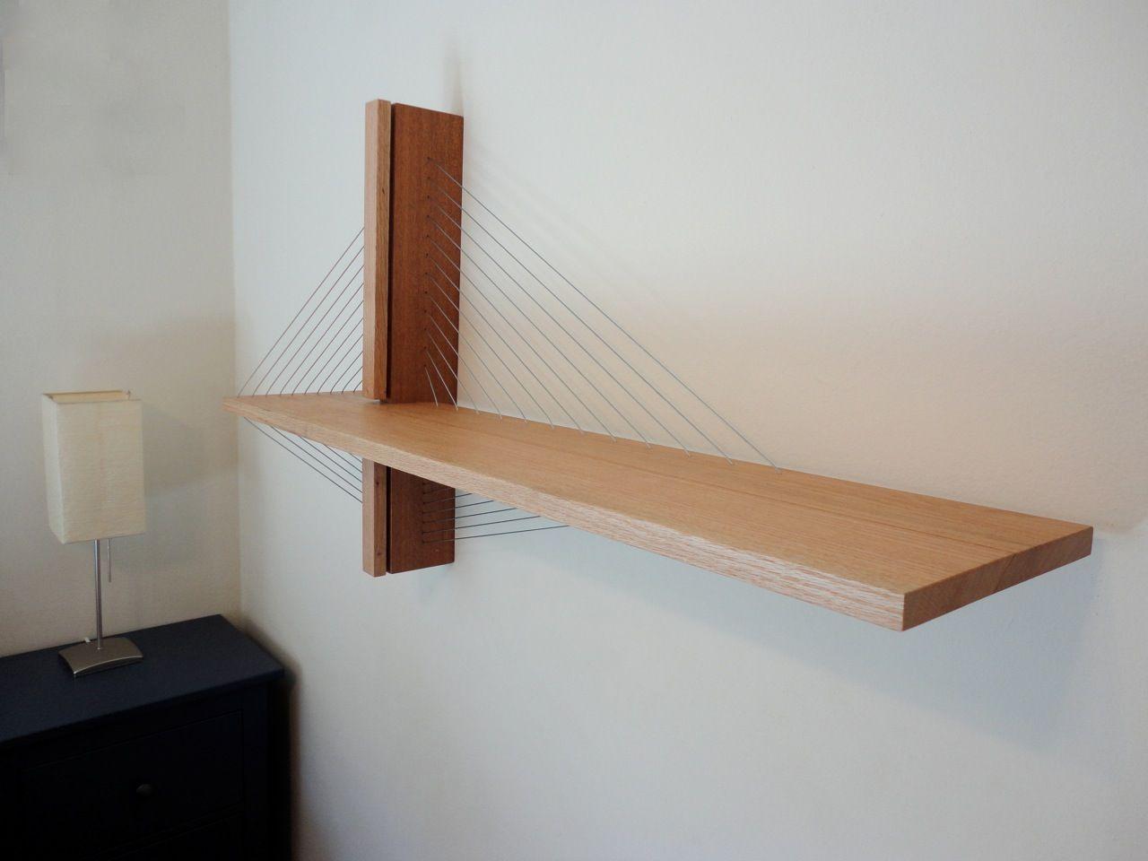 Suspension Shelf Robby Cuthbert Design Modern Floating Shelves Shelves Furniture