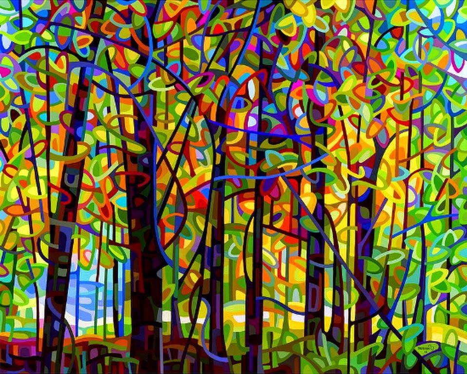 Resultado de imagen para cuadros para pintar faciles for Imagenes de cuadros abstractos faciles
