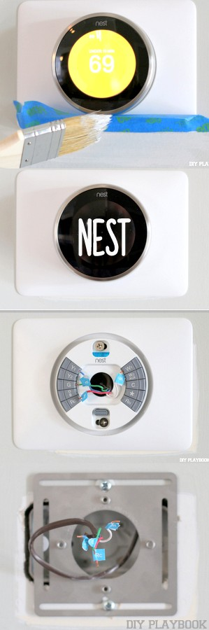 how to install the nest thermostat diy home improvement diy playbook diy home improvement. Black Bedroom Furniture Sets. Home Design Ideas