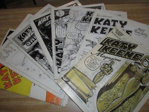 1980s katy Keene Magazine's