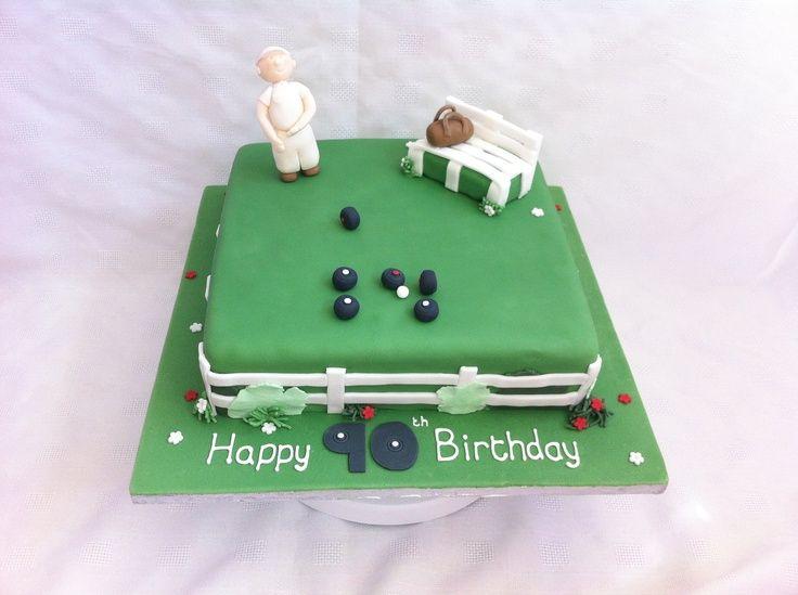 Birthday Bowl: Lawn Bowls Cake - Google Search