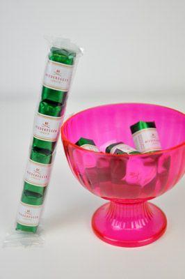 Grün, Grün, Grün ist alles was ich mag– unser Klassiker mit Zartbitterschokolade und edlem Pistaziengeschmack ist allseits beliebt.