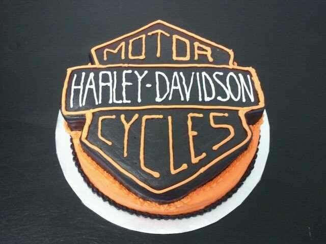 Harley Davidson Cake (all buttercream)