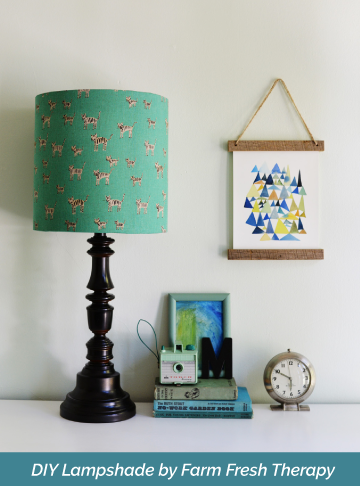 Making Your Own Diy Lampshade Is Easy All You Need Is Pressure