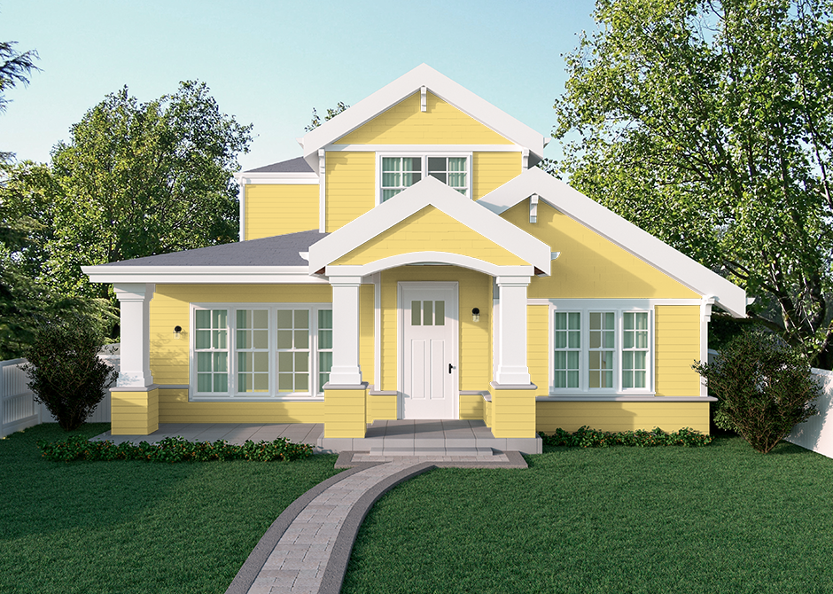 yellow paint colors the home depot popular paint on most popular interior house colors id=93906