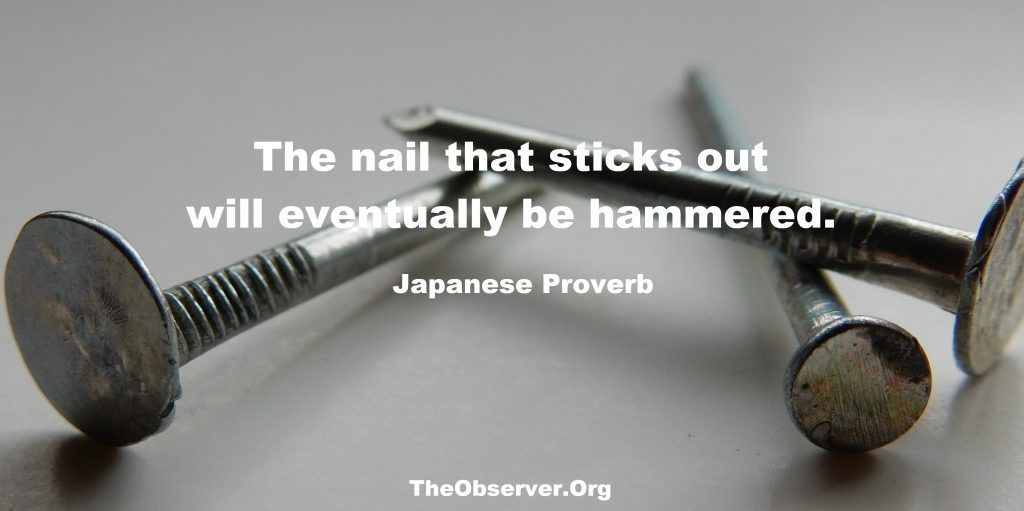 Japanese Proverbs – The Observer | Ancient Proverbs (Worldwide ...