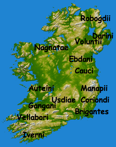 Map Of Ireland 500 Ad.Tribes In Ireland 500 Bc 400 Ad Maps Show You Options