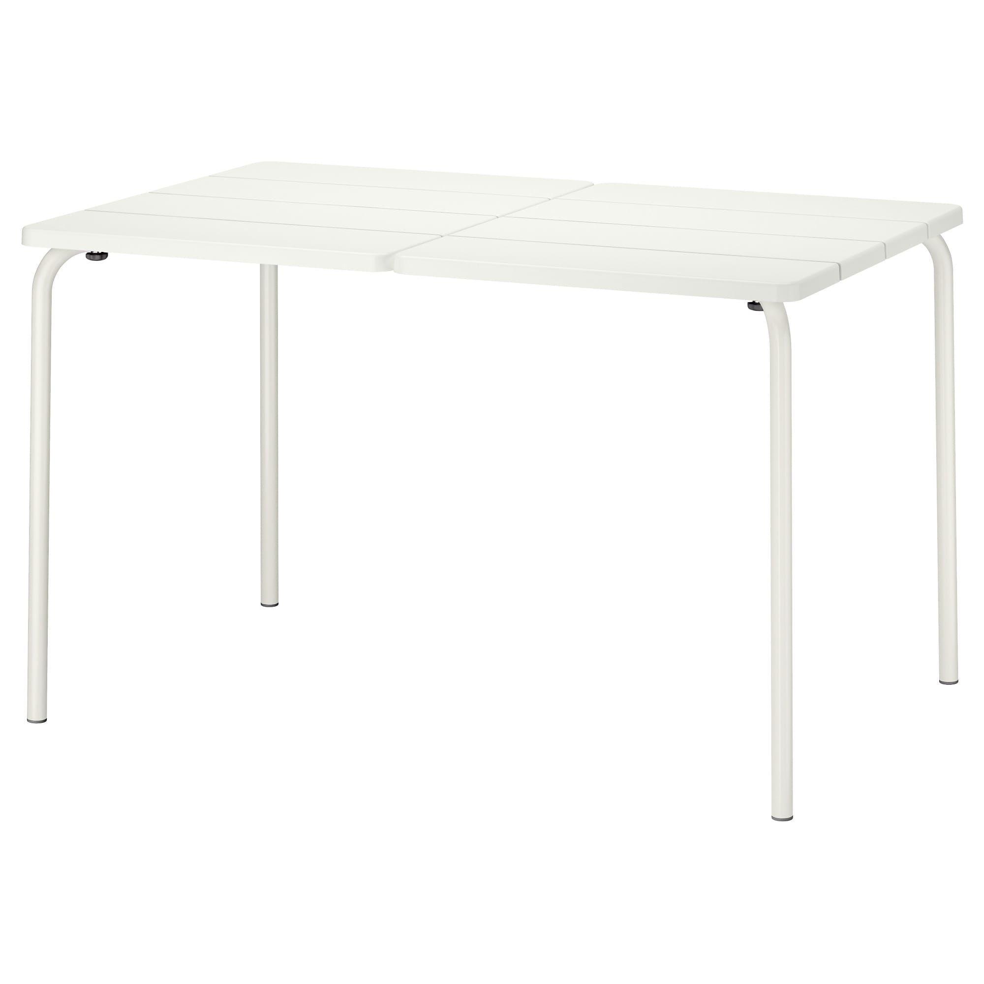 Fantastic Ikea Vaddo White Table Outdoor Alpenrose Ikea Outdoor Dailytribune Chair Design For Home Dailytribuneorg