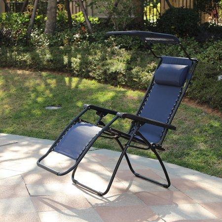 Fine Zero Gravity Chair With Canopy Blue In 2019 Products Inzonedesignstudio Interior Chair Design Inzonedesignstudiocom