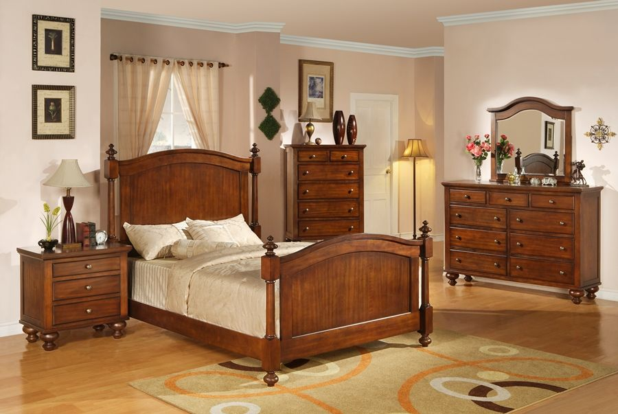 The Unique Design And Engraving Of The Interior Oak Bedroom Set - Erinheartscourt.com