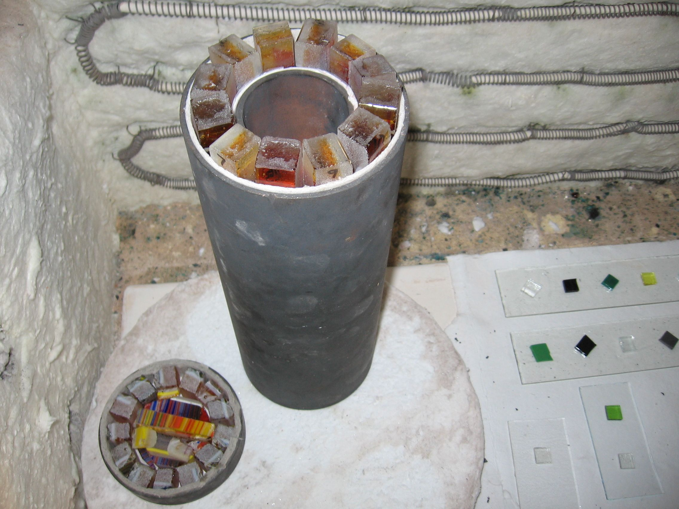 cylinder fusing mold - Google Search
