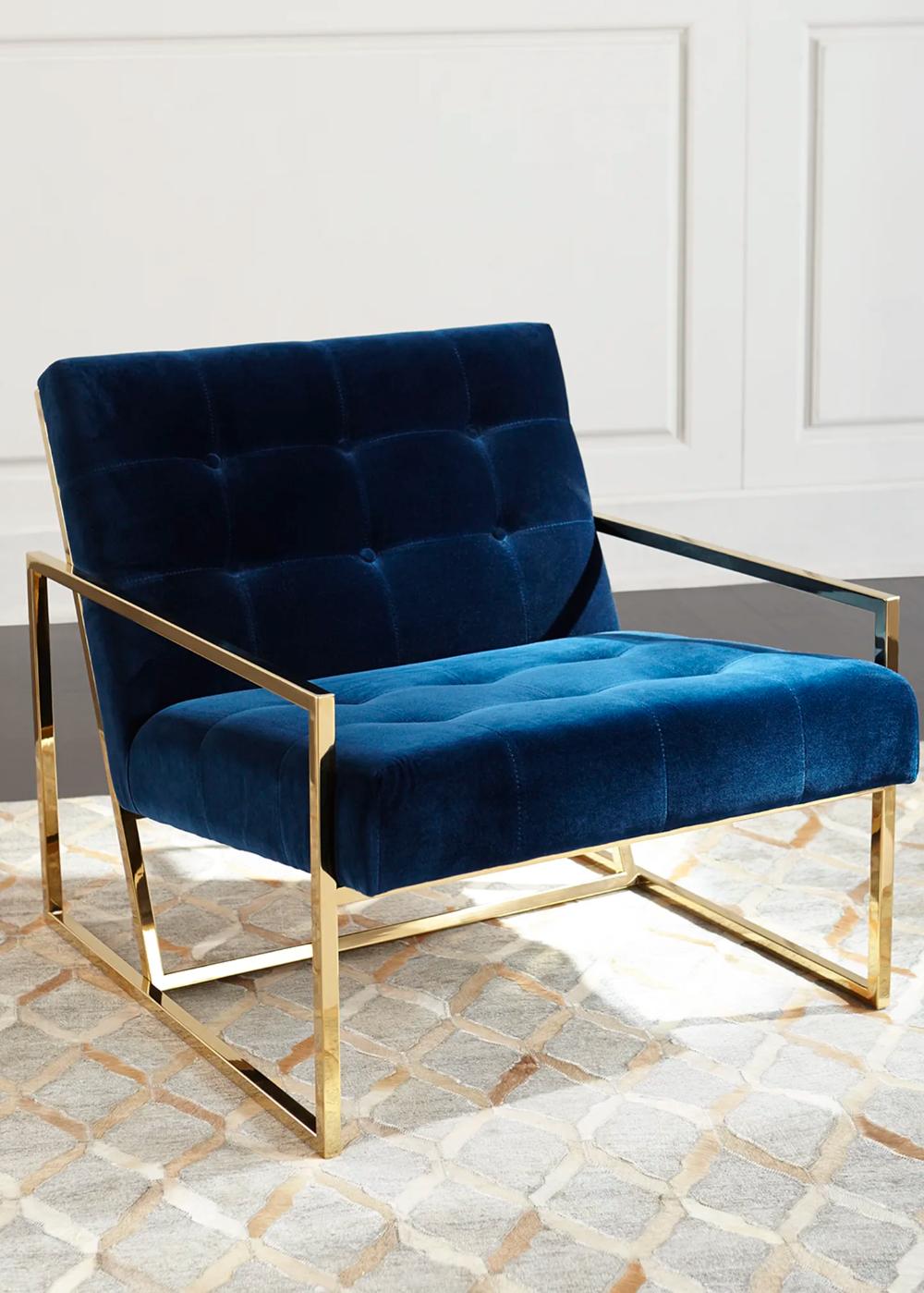 Jonathan Adler Goldfinger Lounge Chair - Bergdorf Goodman