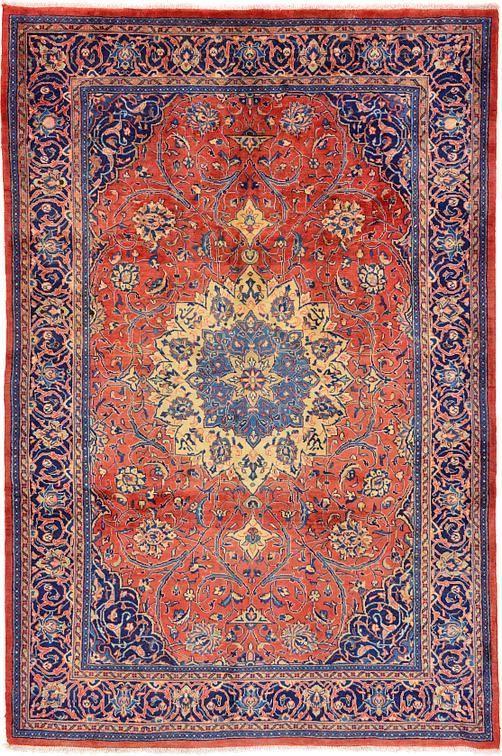Red 6 11 X 10 6 Farahan Rug Persian Rugs Esalerugs Rugs Persian Rug Persian Carpet