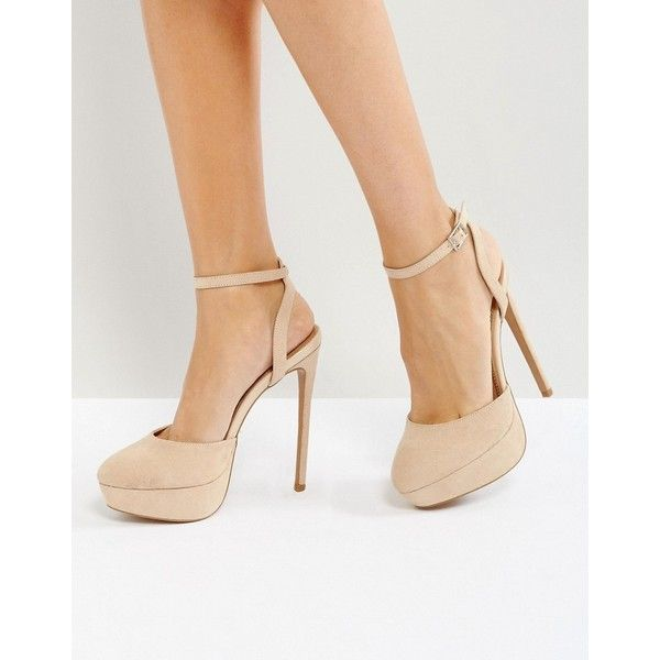 ASOS PAULA Platform Heels ($63) ❤ liked