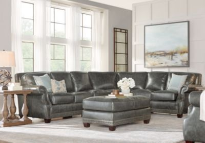 Schwarzes Leder · Sectional Couches For Sale. Large U0026 Small Sectional Sofa  Sets: 2, 3,