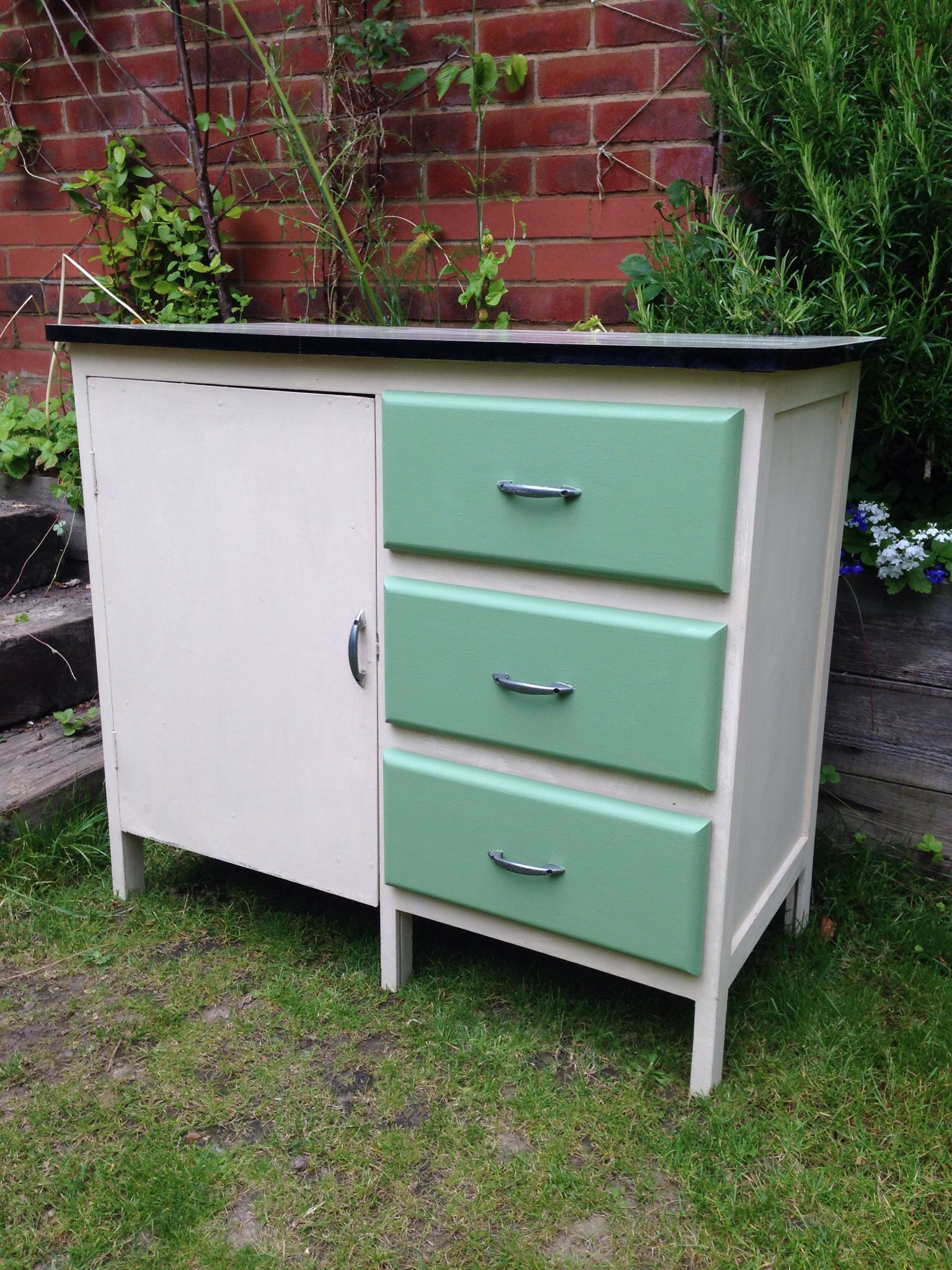 Best Fab 1950 S Retro Kitchen Cupboard With Formica Top £165 400 x 300